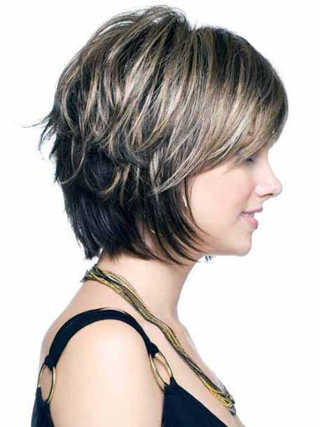 Multi Layered Cascading Pixie Hairstyle For Women