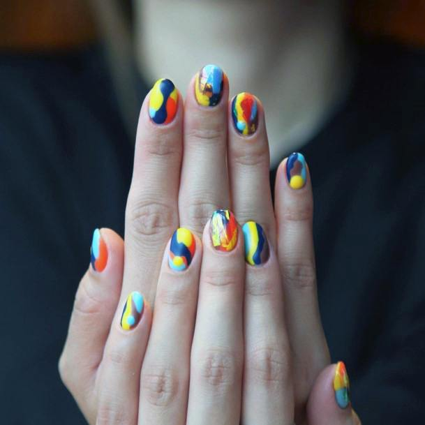 Multiple Colorful Nail Ideas For Women