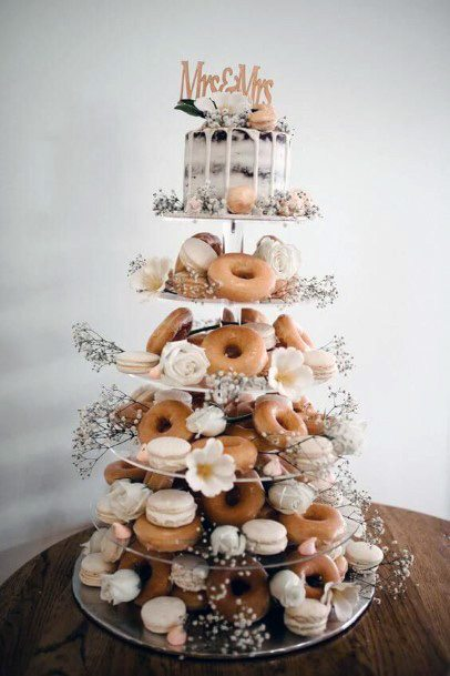 Mutiple Layered Womens Wedding Cake Stand