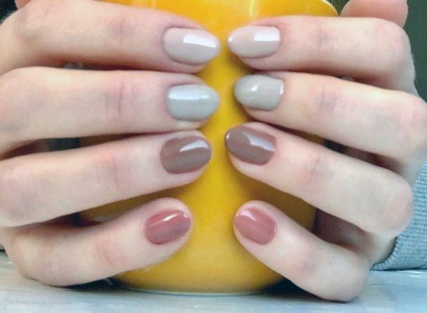 Nail Ideas For Women Brown Shade