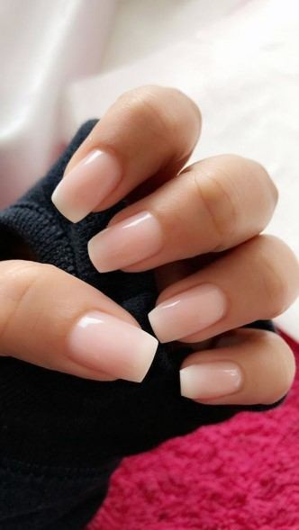 Naked Natural Nail Ideas For Women