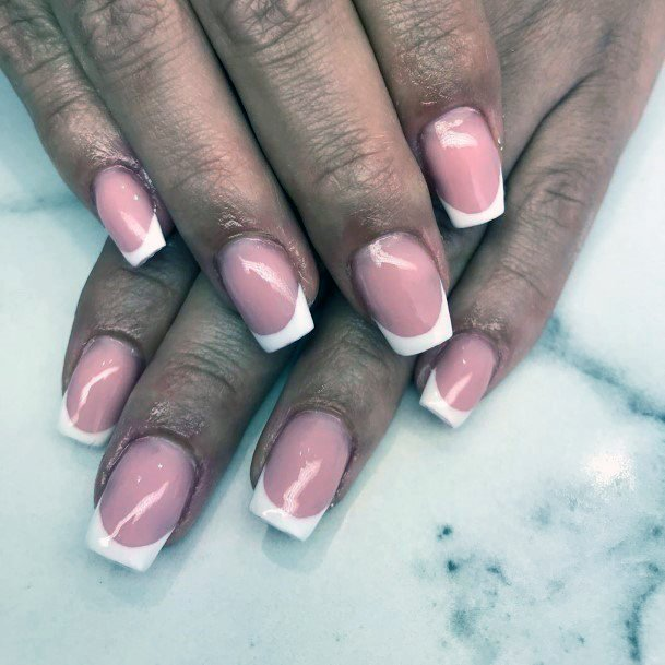 Natural French Manicure Nail Ideas For Women