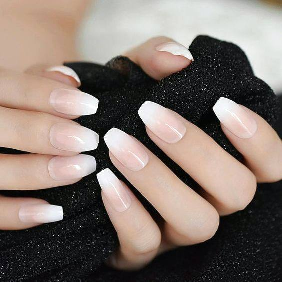 Natural Nails Ombre Ideas For Women