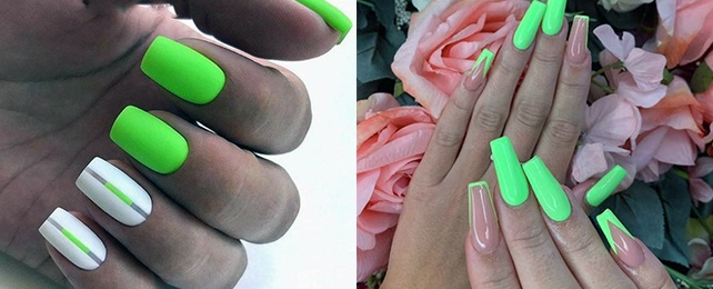 Top 50 Best Neon Green Nails for Women – Bright Design Ideas