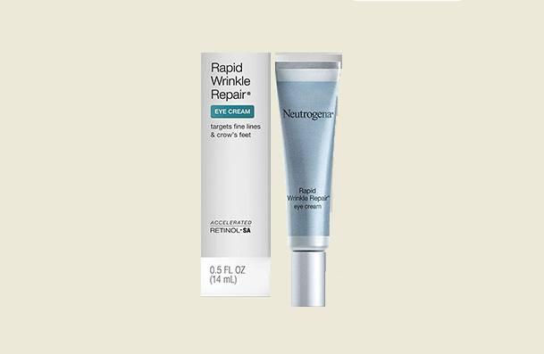 Neutrogena Rapid Wrinkle Repair Hyaluronic Acid Retinol Under Eye Cream For Women
