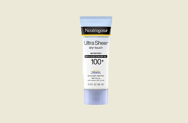 Neutrogena Ultra Sheer Dry Touch Water Resistant Non Greasy Sunscreen For Women