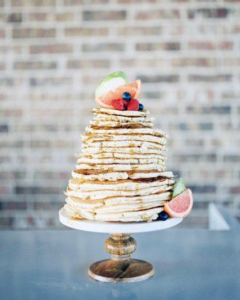 Nice And Unique Wedding Cake