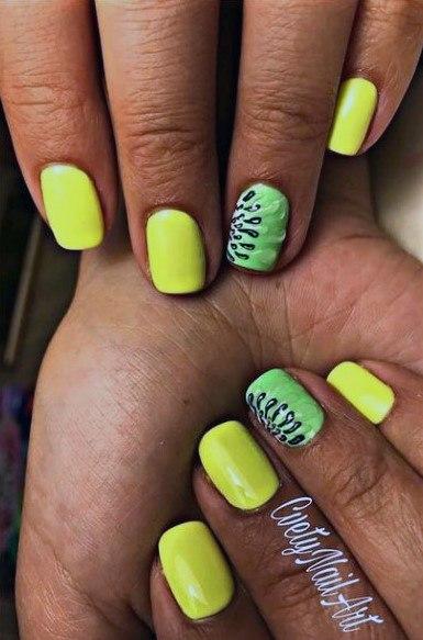Nice Kiwi Nails Women