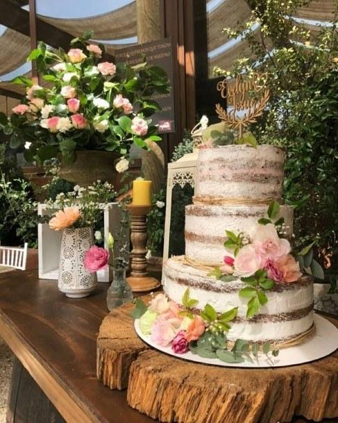 Nice Rustic Wedding Cake Topper