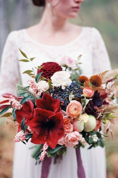 November Wedding Flowers Bouquet
