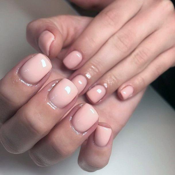 Nude Nails Designs