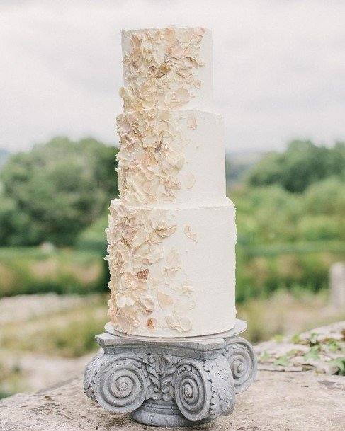 Nutty Buttercream Wedding Cake