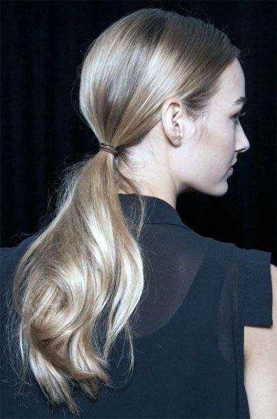 Offhand Blonde Hairstyle For Blonde Women