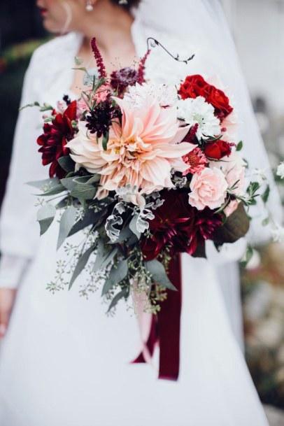 Oh Very Pretty Christmas Wedding Flowers