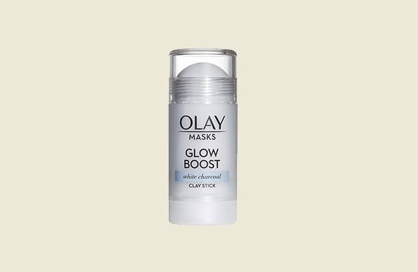 Olay Glow Boost White Charcoal Clay Face Mask For Women
