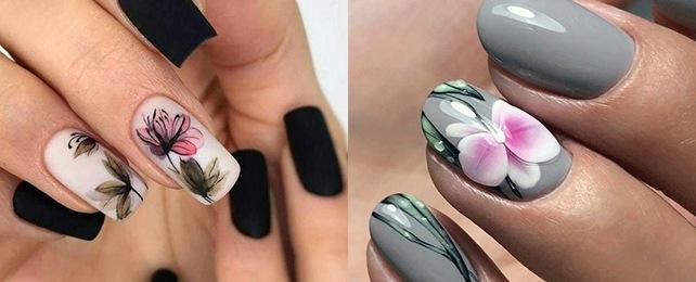 Top 60 Best Orchid Nails for Women – Floral Design Ideas