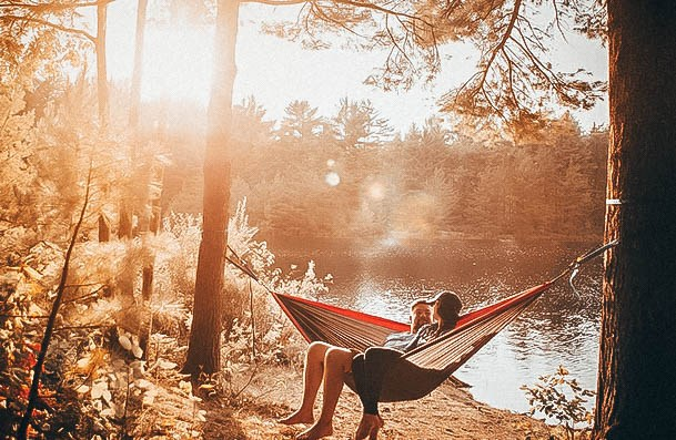 Outdoor Date Ideas Go Camping