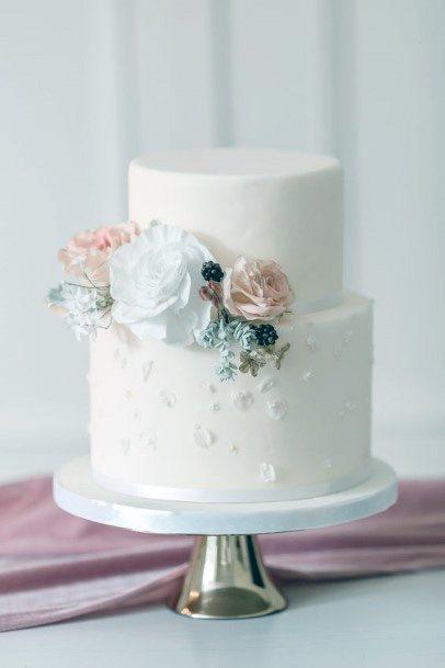 Palatable Elegant Womens Wedding Cake