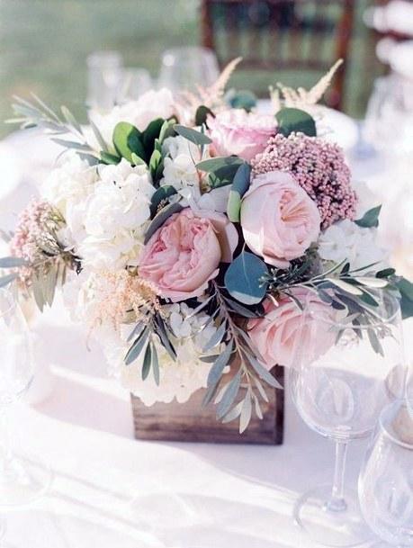 Pastel May Flower Wedding Vase
