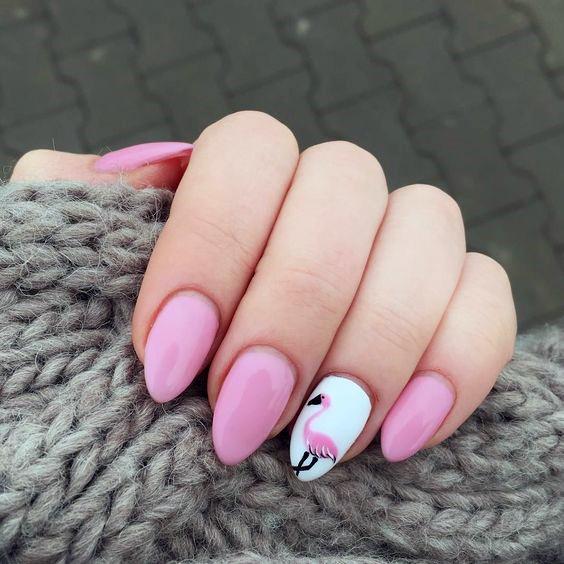 Perfect Flamingo Nails Women
