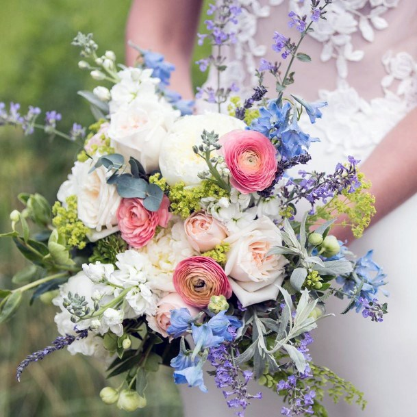 Perfect June Wedding Flowers