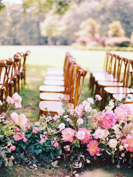 Perfect Pink Flowers Wedding