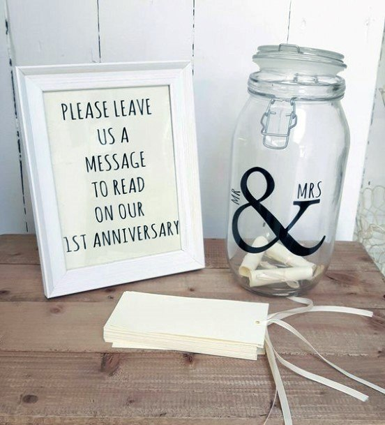 Personalized Messages To The Couple Wedding Guest Book Ideas