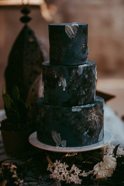 Petrifying Halloween Wedding Cakes
