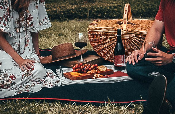 Picnic Date Ideas Outdoors Or At Home On Carpet