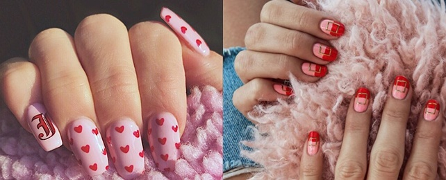 Top 50 Best Pink And Red Nail Ideas For Women – Lovely Designs