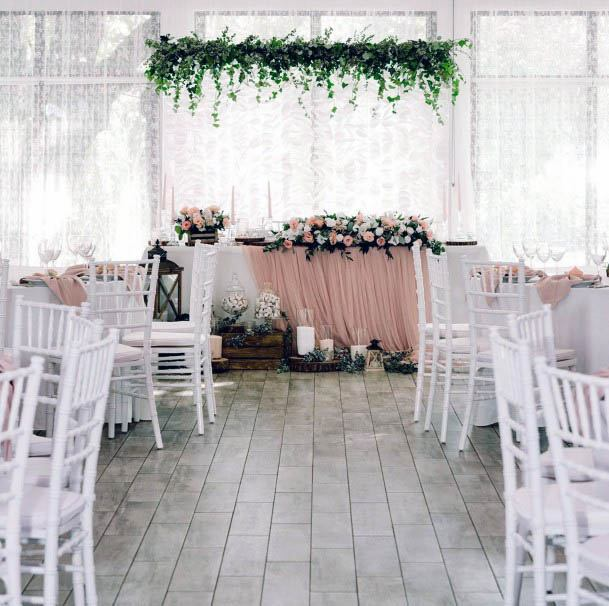 Pink And White Blossom Flowers Wedding