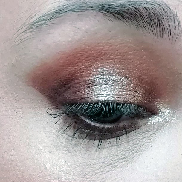 Pink Gold And Brown Eyeshadow Women