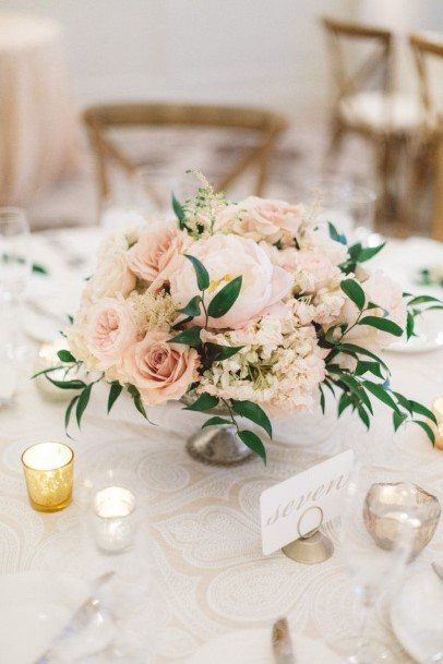 Pink Wedding Centerpiece Ideas