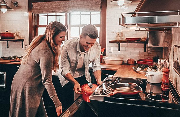 Play Iron Chef At Home Third Date Ideas