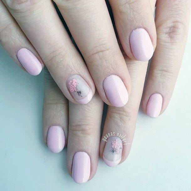 Pleasing Romantic Nails Women