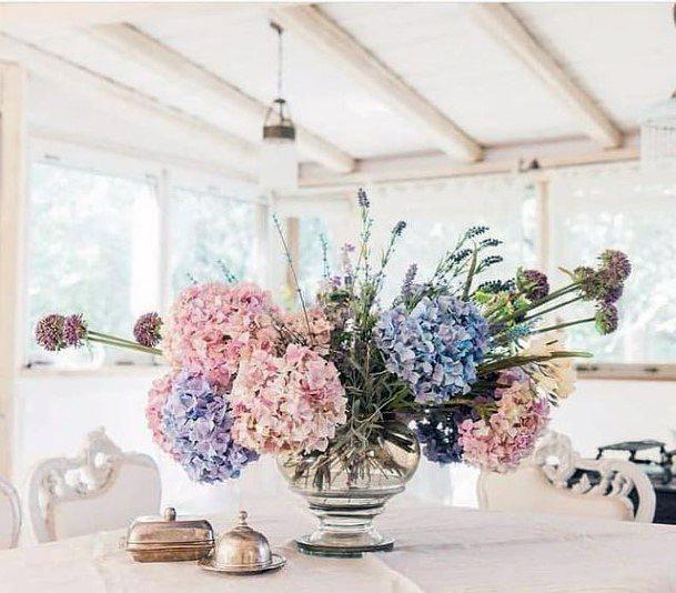 Plush Hydrangea Flowers Wedding