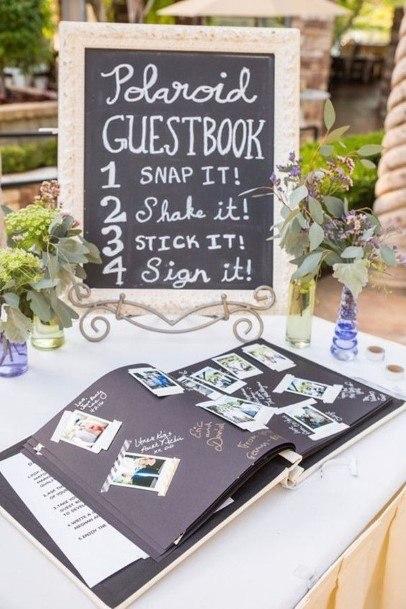 Polaroid Guest Book Unique Ideas