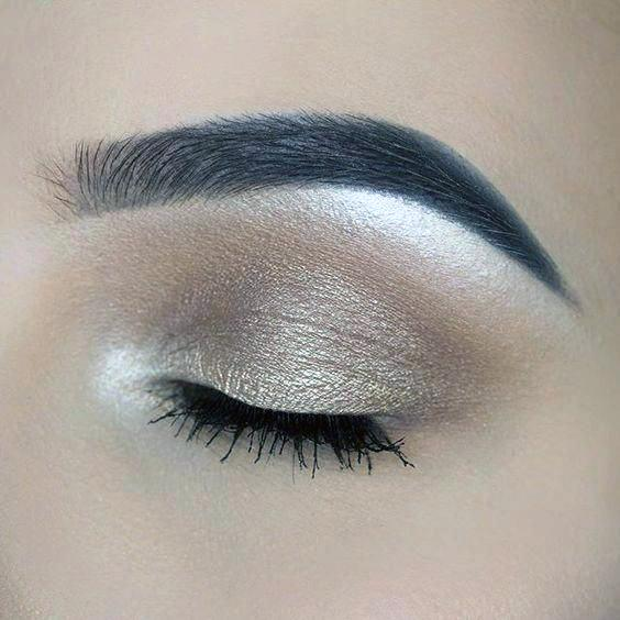 Practical Brown And Gold Eyeshadow Women