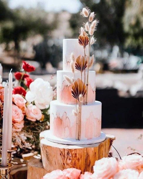 Pretty 3 Tier Wedding Women Cake