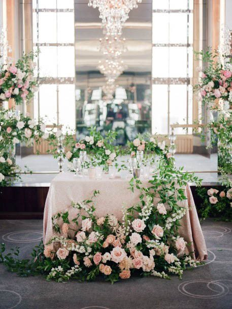 Pretty August Wedding Flowers Decor