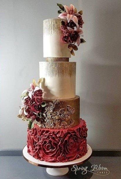 Pretty Beautiful Wedding Cakes