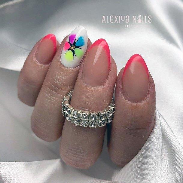 Pretty Colorful Nail Ideas For Women