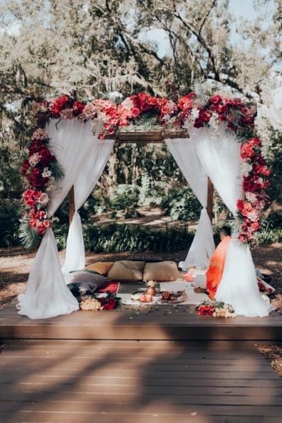 Pretty Decor Indian Wedding Flowers