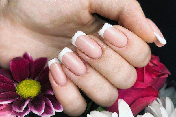 Pretty Natural Nail Ideas For Women