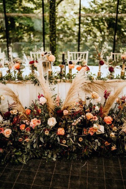 Pretty November Wedding Flowers