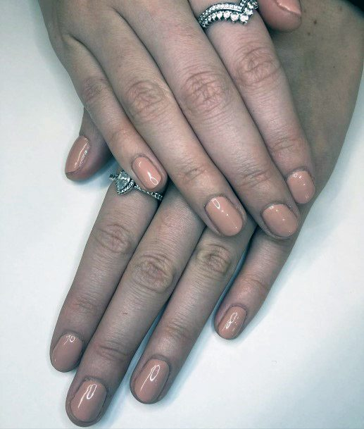 Professional Look Nude Nails
