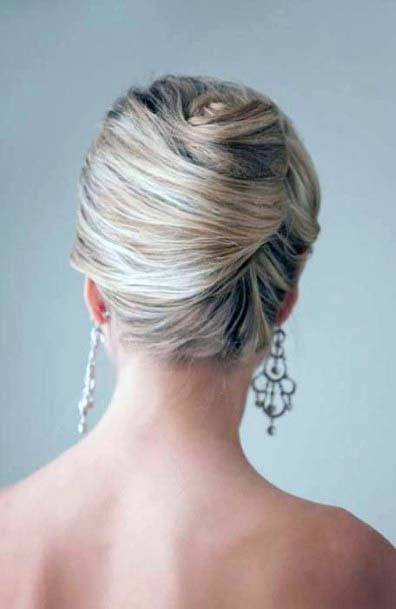 Prom Inspiration French Twist For Teenage Girls