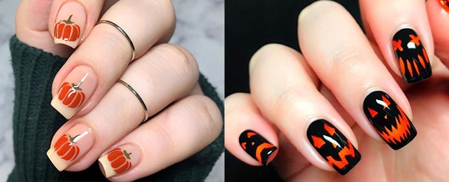 Top 50 Best Pumpkin Nails For Women – Charming Orange Designs