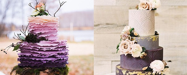 Top 70 Best Purple Wedding Cake Ideas – Royal Purple Designs