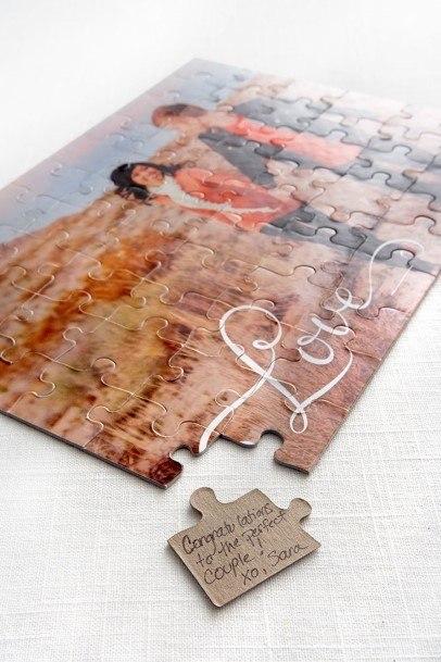 Puzzle Wedding Guest Book Ideas